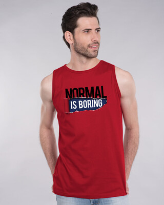 Shop Boring Normal Vest-Front