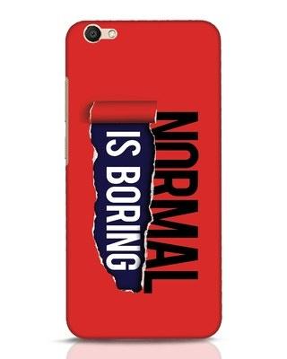 Shop Boring Normal Vivo V5 Mobile Cover-Front