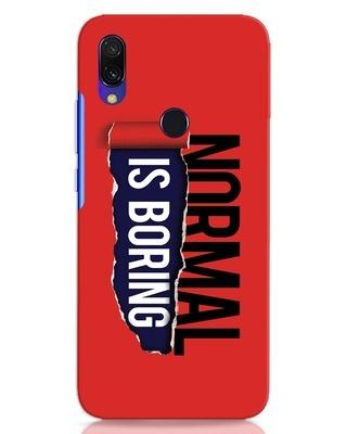 Shop Boring Normal Xiaomi Redmi 7 Mobile Cover-Front