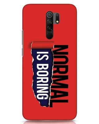 Shop Boring Normal Xiaomi Redmi 9 Prime Mobile Cover-Front