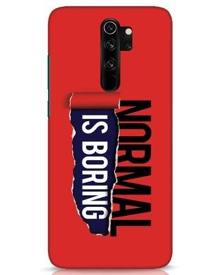 Shop Boring Normal Xiaomi Redmi Note 8 Pro Mobile Cover-Front