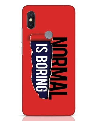Shop Boring Normal Xiaomi Redmi Y2 Mobile Cover-Front