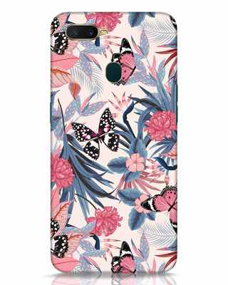Shop Botany Oppo A7 Mobile Cover-Front