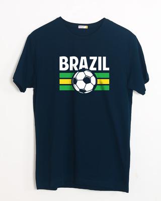 Buy Brazil Half Sleeve T-Shirt Online India @ Bewakoof.com