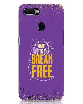 Shop Break Free Oppo F9 Pro Mobile Cover-Front