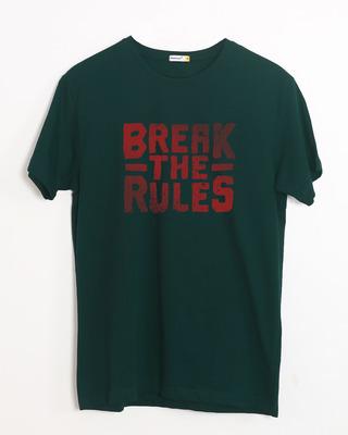 Buy Break The Rules Half Sleeve T-Shirt Online India @ Bewakoof.com