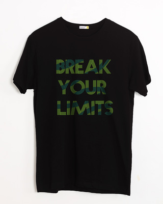 Buy Break Your Limits Half Sleeve T-Shirt Online India @ Bewakoof.com