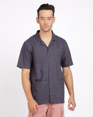 Shop Breakbounce Men Regular Fit Shirt-Front