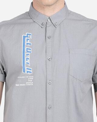 Shop Breakbounce Men Slim Fit Shirt-Front
