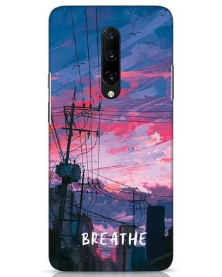 Shop Breathe OnePlus 7 Pro Mobile Cover-Front