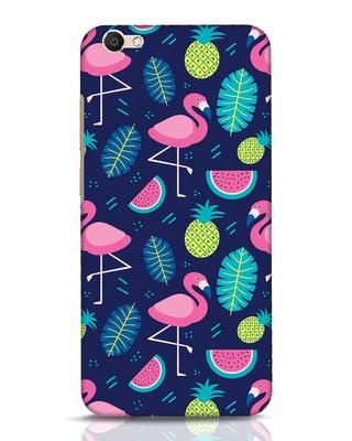 Shop Bright Flamingo Vivo V5 Mobile Cover-Front