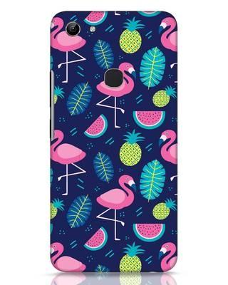 Shop Bright Flamingo Vivo Y81 Mobile Cover-Front