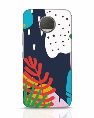 Shop Bright Tropics Moto G5s Plus Mobile Cover-Front