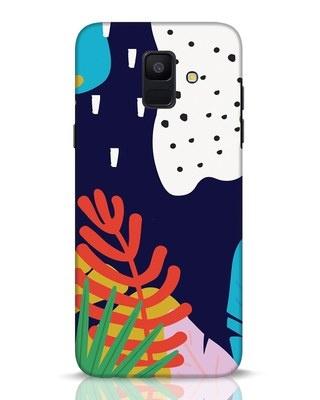 Shop Bright Tropics Samsung Galaxy A6 2018 Mobile Cover-Front
