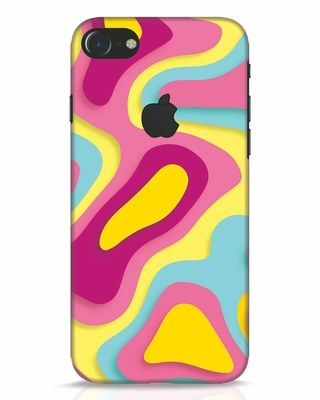 Shop Brights iPhone 7 Logo Cut Mobile Cover-Front