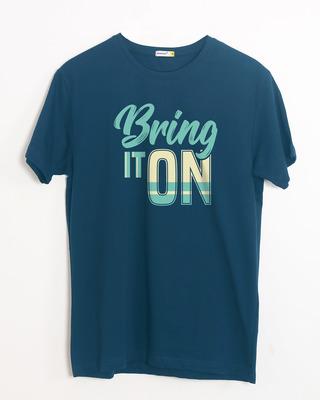 Buy Bring It New Half Sleeve T-Shirt Online India @ Bewakoof.com