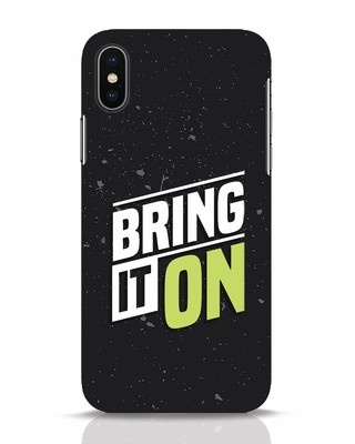 Shop Bring It On iPhone X Mobile Cover-Front