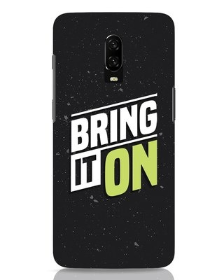 Shop Bring It On OnePlus 6T Mobile Cover-Front