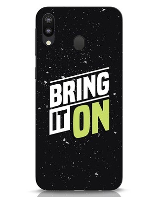 Shop Bring It On Samsung Galaxy M20 Mobile Cover-Front