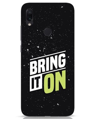 Shop Bring It On Xiaomi Redmi Note 7s Mobile Cover-Front