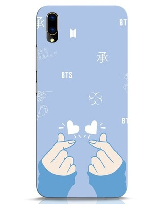 Shop Bts Doodle Vivo V11 Pro Mobile Cover-Front