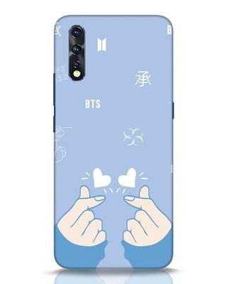 Shop Bts Doodle Vivo Z1x Mobile Cover-Front