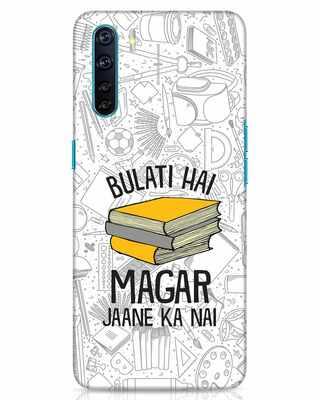 Shop Bulati Hai Books Oppo F15 Mobile Cover-Front