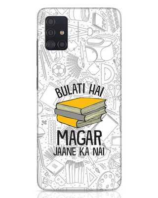 Shop Bulati Hai Books Samsung Galaxy A51 Mobile Cover-Front