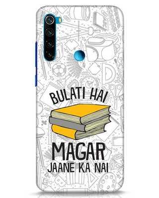 Shop Bulati Hai Books Xiaomi Redmi Note 8 Mobile Cover-Front