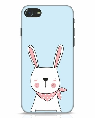 Shop Bunny Peep iPhone 8 Mobile Cover-Front