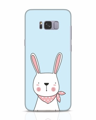 Shop Bunny Peep Samsung Galaxy S8 Mobile Cover-Front