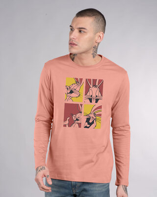 Shop Bunny Window Full Sleeve T-Shirt (LTL)-Front