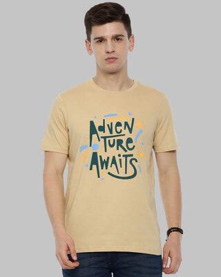 Shop Bushirt Adventure Awaits Printed T-Shirt-Front