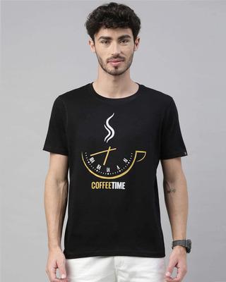 Shop Bushirt Coffee Time Printed T-Shirt-Front