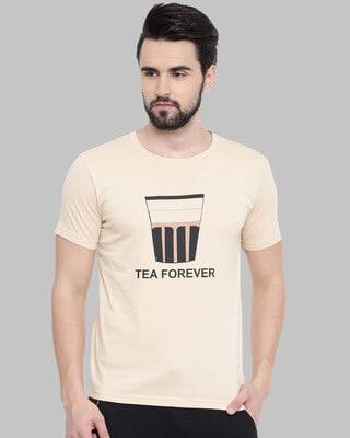 Shop Bushirt Tea Forever Printed T-Shirt-Front