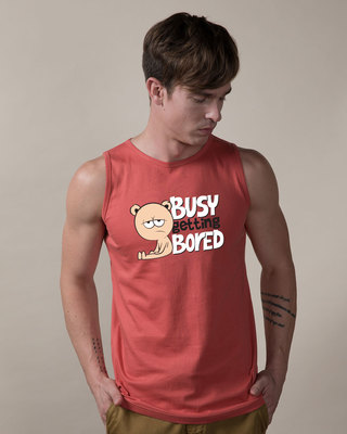 Shop Busy Getting Bored Vest-Front