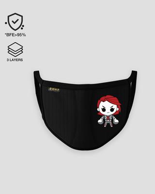 Shop BW Chibi Everyday Mask2.0-Front