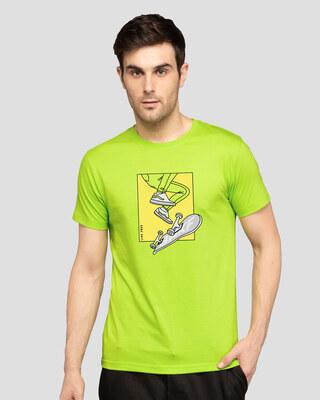 Shop Bwkf Skateboard Half Sleeve T-Shirt-Front
