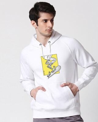 Shop BWKF Skateboard Printed Hoodie Sweatshirt AW20 (TJL)-Front