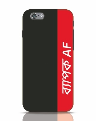 Shop Byapok Af iPhone 6s Mobile Cover-Front