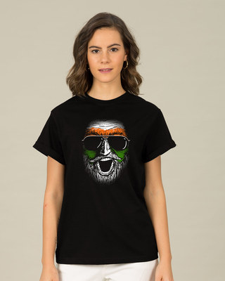 Shop C'mon India Boyfriend T-Shirt-Front