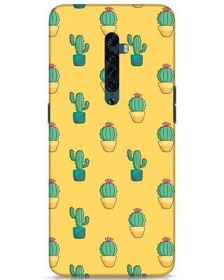 Shop Cactus Pattern Oppo Reno 2 Mobile Cover-Front