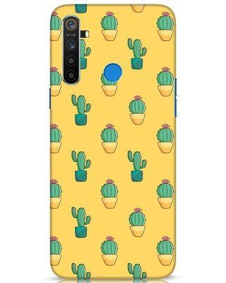 Shop Cactus Pattern Realme 5 Mobile Cover-Front