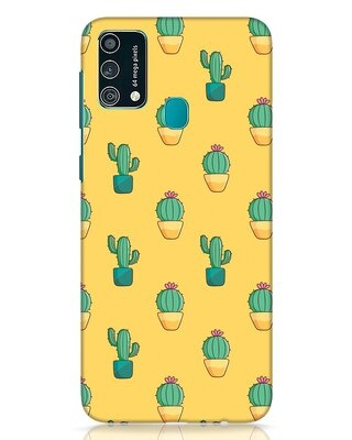 Shop Cactus Pattern Samsung Galaxy F41 Mobile Cover-Front