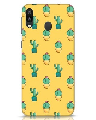 Shop Cactus Pattern Samsung Galaxy M20 Mobile Cover-Front