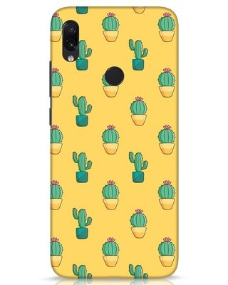 Shop Cactus Pattern Xiaomi Redmi Note 7s Mobile Cover-Front