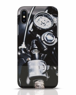 Shop Cafe Racer iPhone X Mobile Cover-Front
