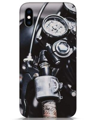 Shop Cafe Racer iPhone XS Mobile Cover-Front