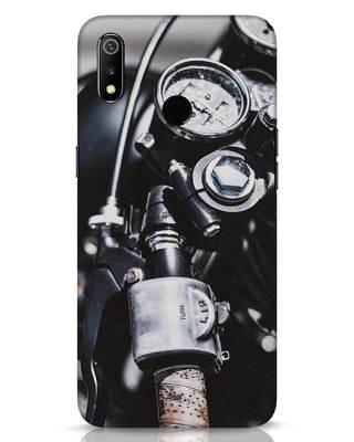 Shop Cafe Racer Realme 3 Mobile Cover-Front