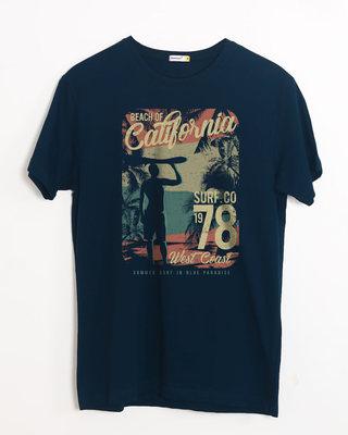 Shop California 78 Half Sleeve T-Shirt-Front